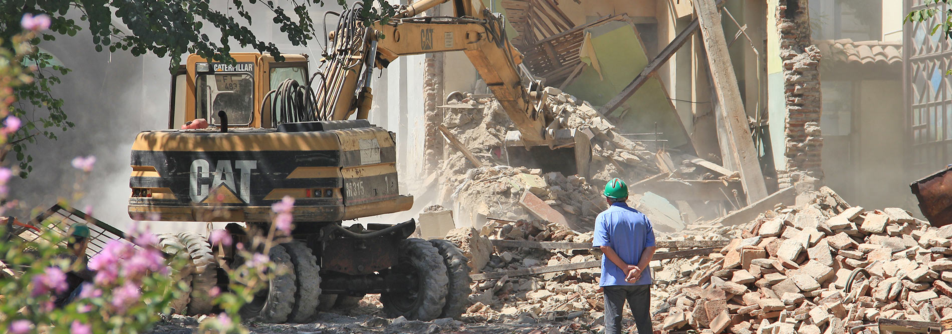 demolačné práce